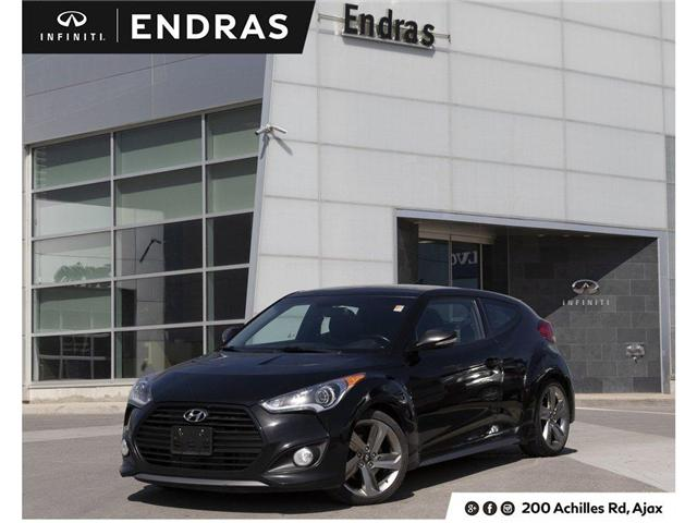 2014 Hyundai Veloster Turbo (Stk: 60542B) in Ajax - Image 1 of 25