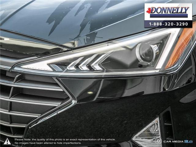 2019 Hyundai Elantra  (Stk: PLDUR6081) in Ottawa - Image 9 of 30