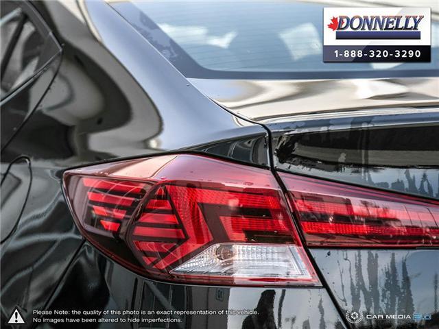 2019 Hyundai Elantra  (Stk: PLDUR6081) in Ottawa - Image 11 of 30