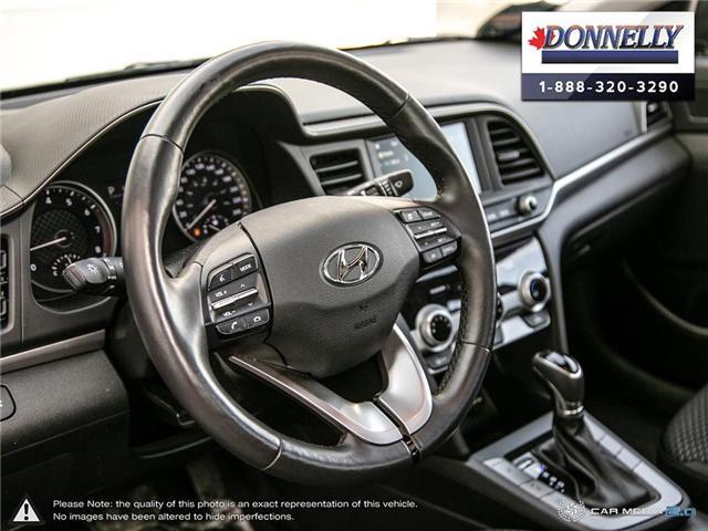 2019 Hyundai Elantra  (Stk: PLDUR6081) in Ottawa - Image 12 of 30