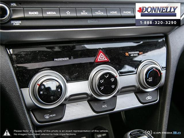 2019 Hyundai Elantra  (Stk: PLDUR6081) in Ottawa - Image 19 of 30