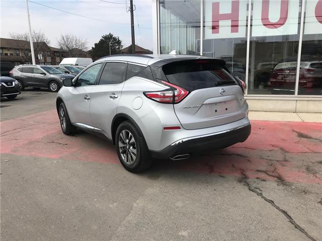 2017 Nissan Murano SV (Stk: N1431) in Hamilton - Image 7 of 12