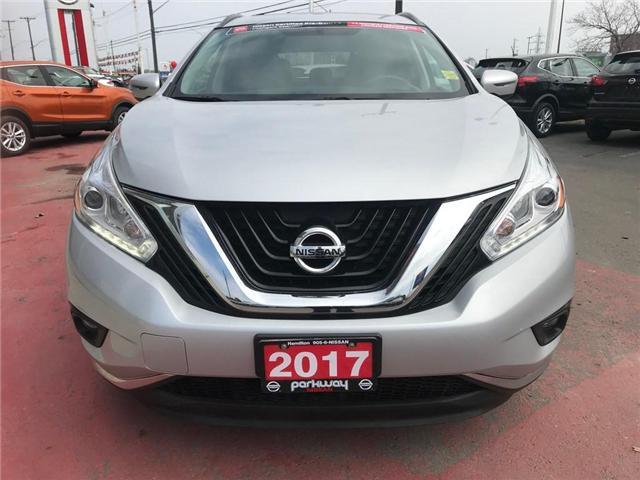 2017 Nissan Murano SV (Stk: N1431) in Hamilton - Image 10 of 12