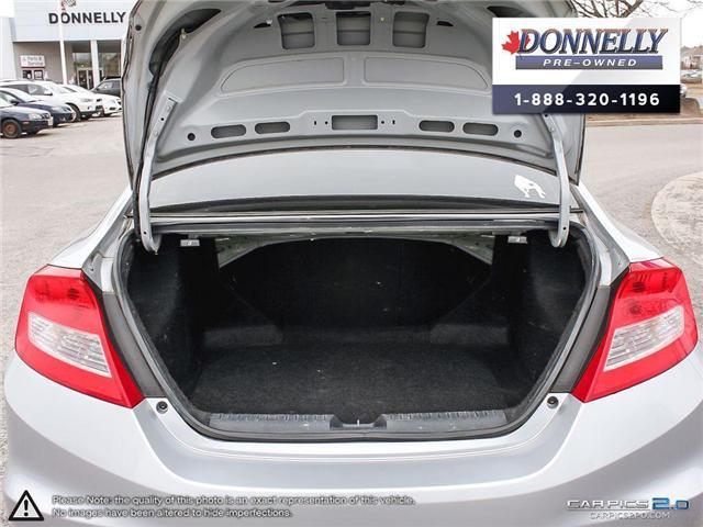 2012 Honda Civic EX-L (Stk: CLMUR935B) in Kanata - Image 10 of 28