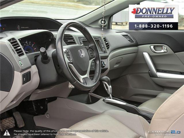2012 Honda Civic EX-L (Stk: MUR935B) in Kanata - Image 13 of 28