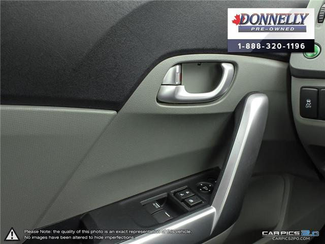 2012 Honda Civic EX-L (Stk: MUR935B) in Kanata - Image 17 of 28