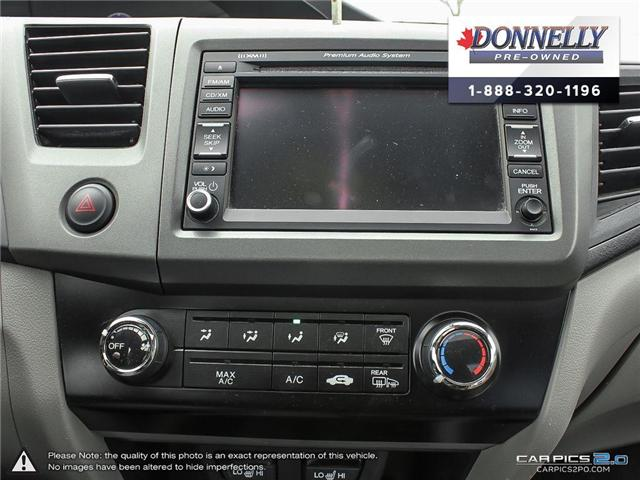 2012 Honda Civic EX-L (Stk: MUR935B) in Kanata - Image 21 of 28