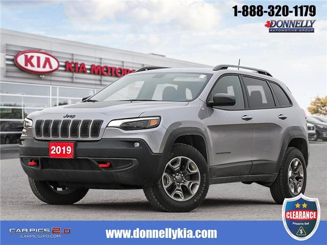2019 Jeep Cherokee Trailhawk (Stk: KUR2258) in Kanata - Image 1 of 28