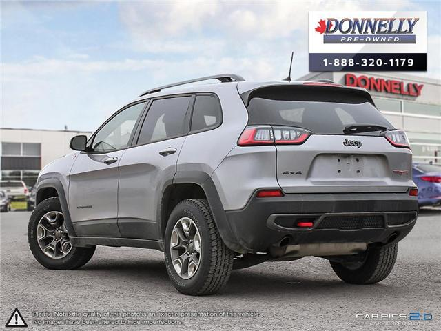 2019 Jeep Cherokee Trailhawk (Stk: KUR2258) in Kanata - Image 4 of 28