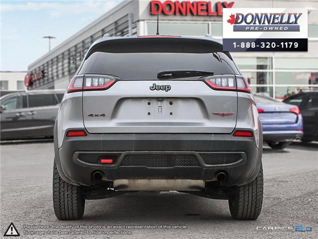 2019 Jeep Cherokee Trailhawk (Stk: KUR2258) in Kanata - Image 5 of 28