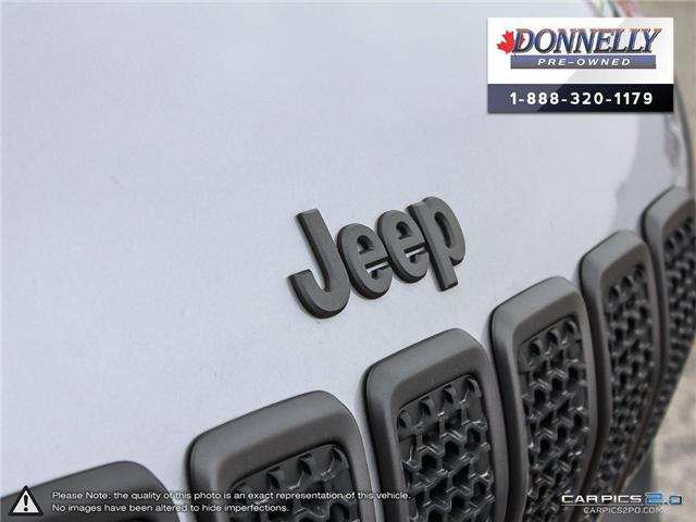2019 Jeep Cherokee Trailhawk (Stk: CLKUR2258) in Kanata - Image 8 of 28