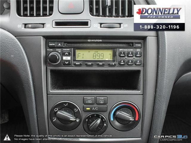 2005 Hyundai Elantra  (Stk: PBWMS19C) in Kanata - Image 21 of 28