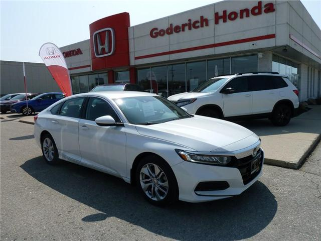 2018 Honda Accord LX (Stk: N11518) in Goderich - Image 1 of 10