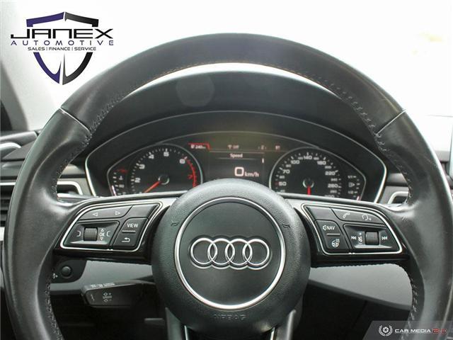 2017 Audi A4 2.0T Progressiv (Stk: 19101) in Ottawa - Image 14 of 27
