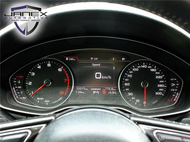 2017 Audi A4 2.0T Progressiv (Stk: 19101) in Ottawa - Image 16 of 27