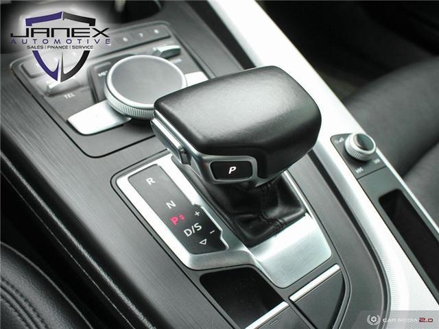 2017 Audi A4 2.0T Progressiv (Stk: 19101) in Ottawa - Image 20 of 27