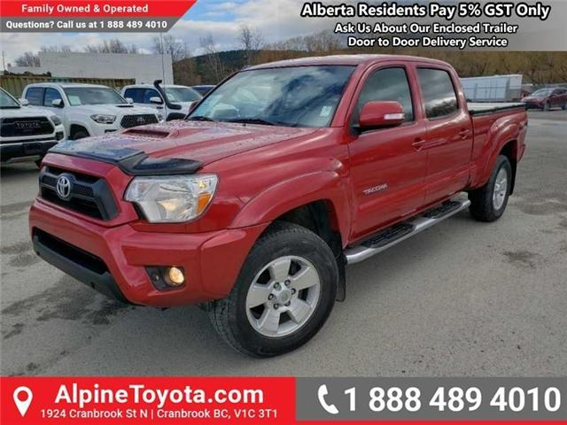 2013 Toyota Tacoma V6 (Stk: X040883B) in Cranbrook - Image 1 of 17