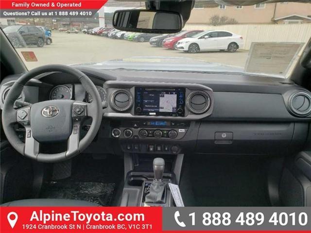 2019 Toyota Tacoma SR5 V6 (Stk: X043213) in Cranbrook - Image 10 of 16