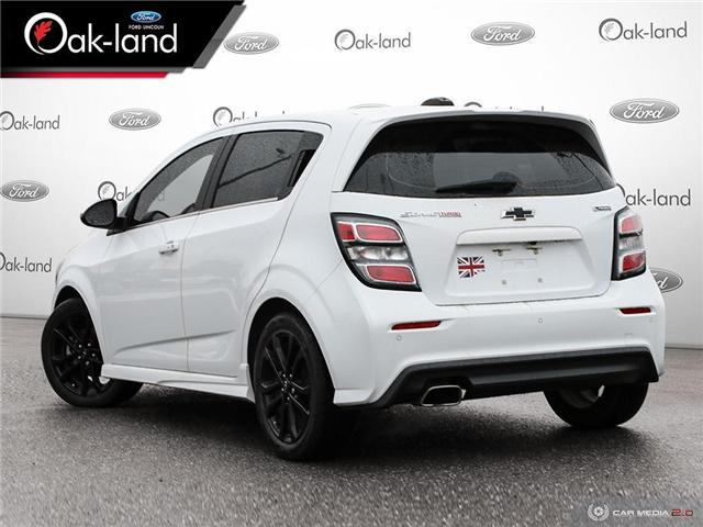 2018 Chevrolet Sonic Premier Auto (Stk: A3083A) in Oakville - Image 4 of 27