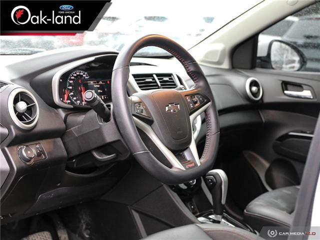 2018 Chevrolet Sonic Premier Auto (Stk: A3083A) in Oakville - Image 13 of 27