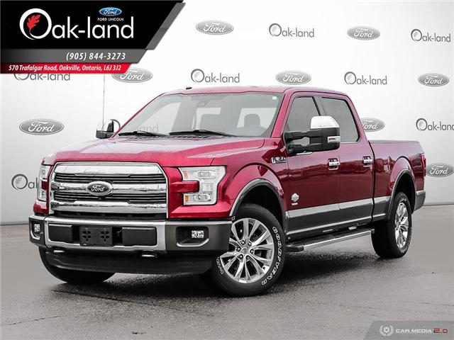2016 Ford F-150 King Ranch (Stk: 8T720A) in Oakville - Image 1 of 27