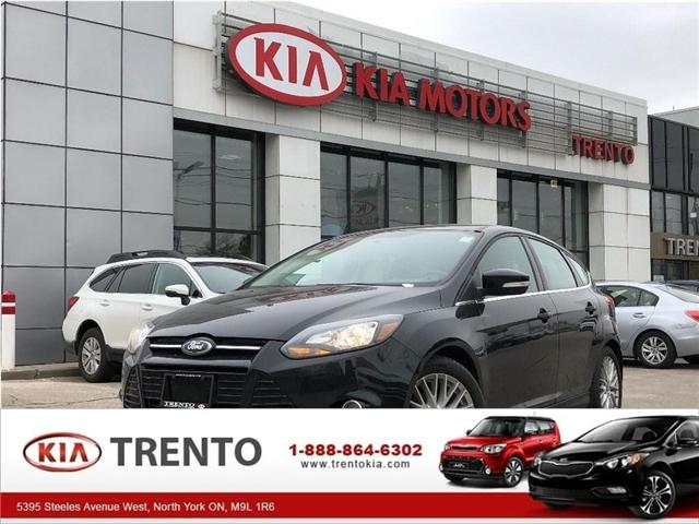 2013 Ford Focus Titanium (Stk: SF114) in North York - Image 1 of 23