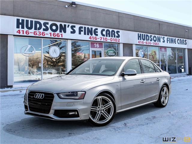 2015 Audi A4 2.0T Progressiv (Stk: 20935) in Toronto - Image 1 of 30