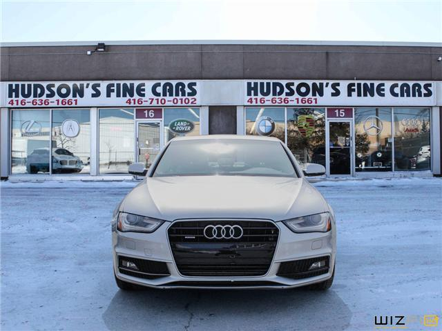 2015 Audi A4 2.0T Progressiv (Stk: 20935) in Toronto - Image 2 of 30