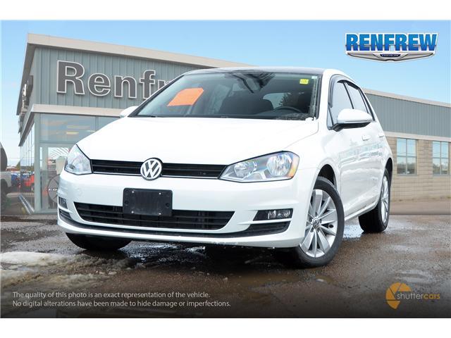 2017 Volkswagen Golf 1.8 TSI Trendline (Stk: J167B) in Renfrew - Image 1 of 20