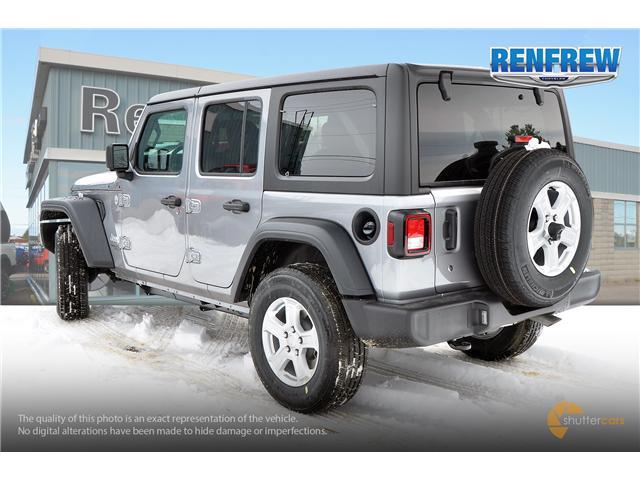 2019 Jeep Wrangler Unlimited Sport (Stk: K189) in Renfrew - Image 4 of 20