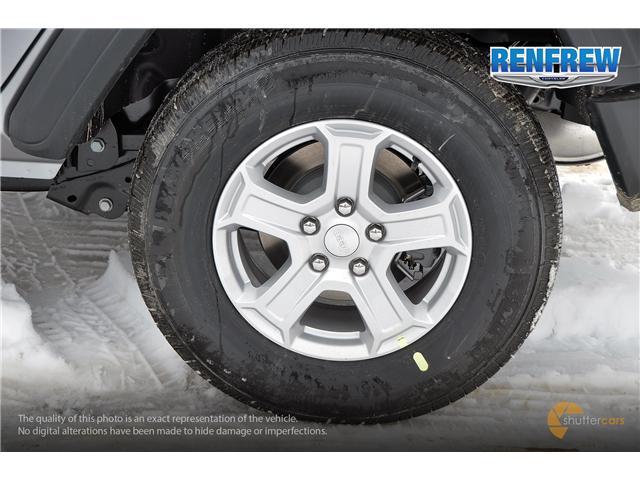 2019 Jeep Wrangler Unlimited Sport (Stk: K189) in Renfrew - Image 5 of 20