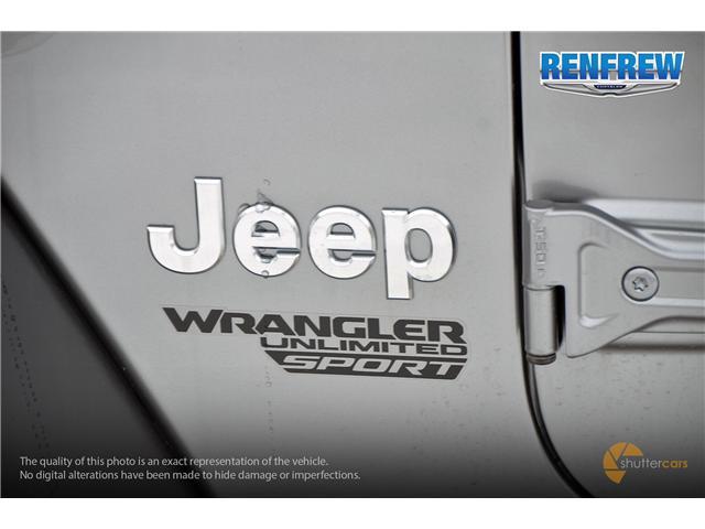 2019 Jeep Wrangler Unlimited Sport (Stk: K189) in Renfrew - Image 6 of 20