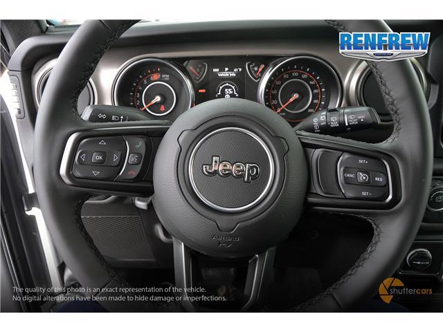 2019 Jeep Wrangler Unlimited Sport (Stk: K189) in Renfrew - Image 12 of 20