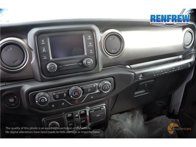 2019 Jeep Wrangler Unlimited Sport (Stk: K189) in Renfrew - Image 14 of 20