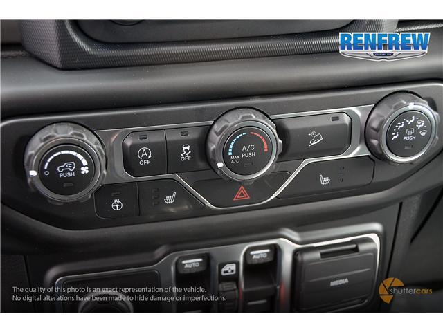 2019 Jeep Wrangler Unlimited Sport (Stk: K189) in Renfrew - Image 17 of 20