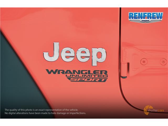 2019 Jeep Wrangler Unlimited Sport (Stk: K196) in Renfrew - Image 6 of 20