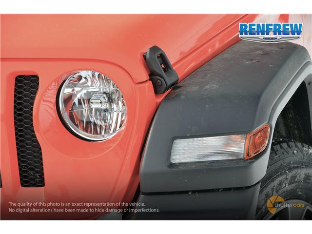 2019 Jeep Wrangler Unlimited Sport (Stk: K196) in Renfrew - Image 8 of 20