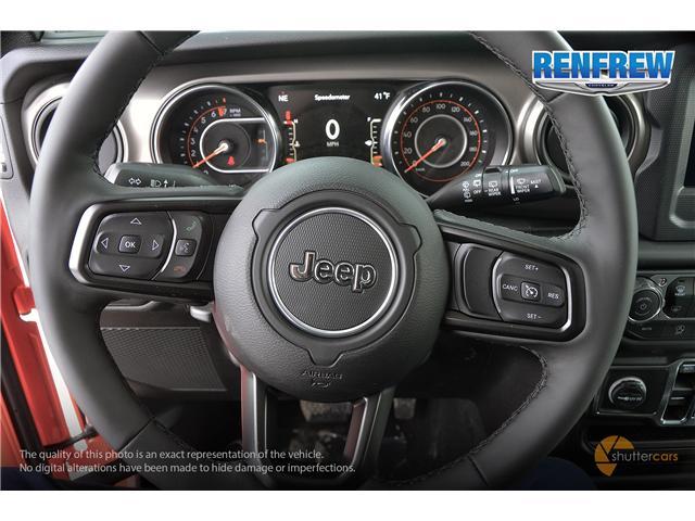 2019 Jeep Wrangler Unlimited Sport (Stk: K196) in Renfrew - Image 12 of 20