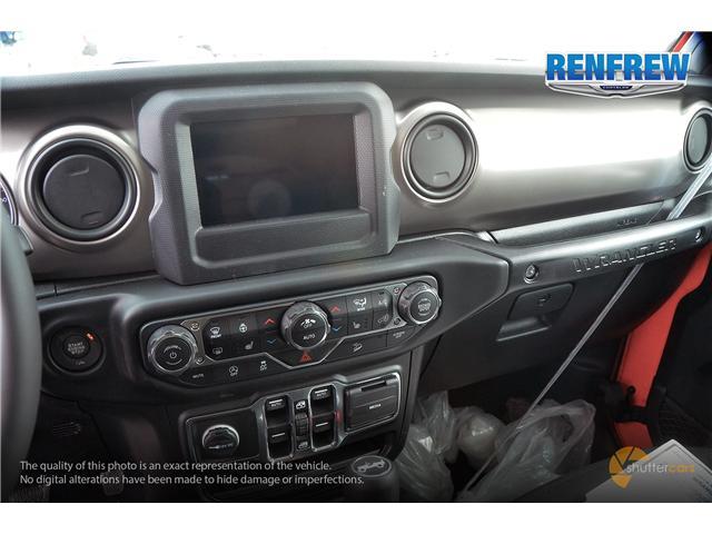 2019 Jeep Wrangler Unlimited Sport (Stk: K196) in Renfrew - Image 14 of 20
