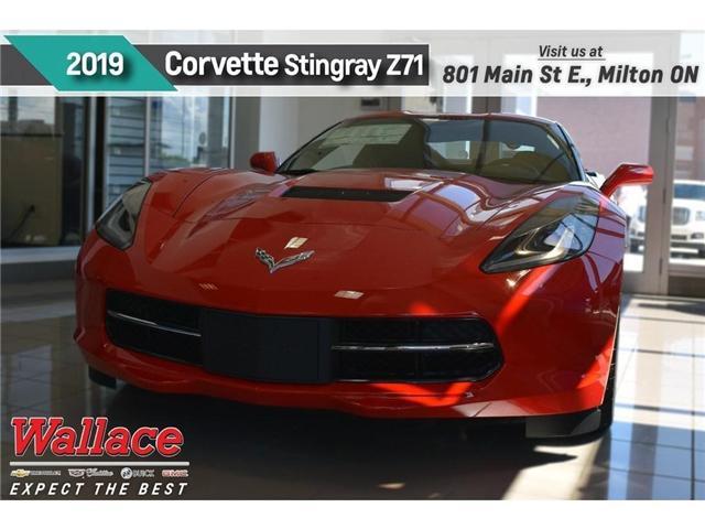 2019 Chevrolet Corvette Stingray Z51 (Stk: 105776) in Milton - Image 1 of 11