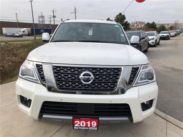 2019 Nissan Armada Platinum (Stk: Y4005) in Burlington - Image 2 of 5