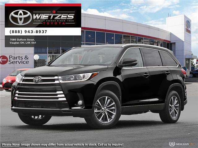 2019 Toyota Highlander XLE AWD (Stk: 68462) in Vaughan - Image 1 of 10