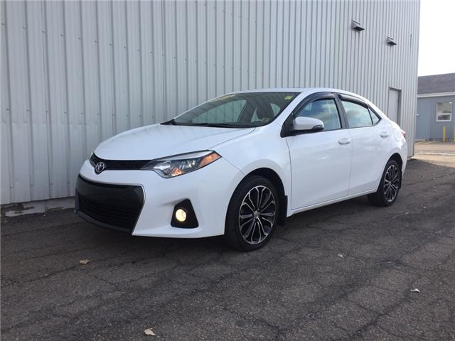 2015 Toyota Corolla S (Stk: SUB1917TB) in Charlottetown - Image 1 of 22