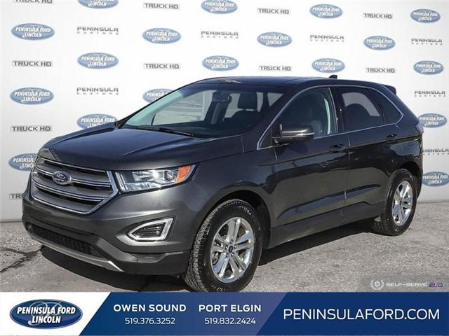 2018 Ford Edge SEL (Stk: 1734) in Owen Sound - Image 1 of 24