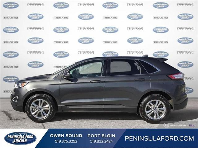 2018 Ford Edge SEL (Stk: 1734) in Owen Sound - Image 3 of 24