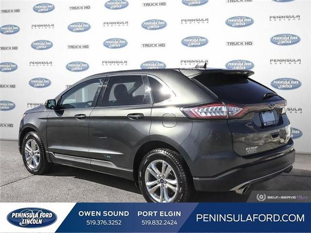 2018 Ford Edge SEL (Stk: 1734) in Owen Sound - Image 4 of 24