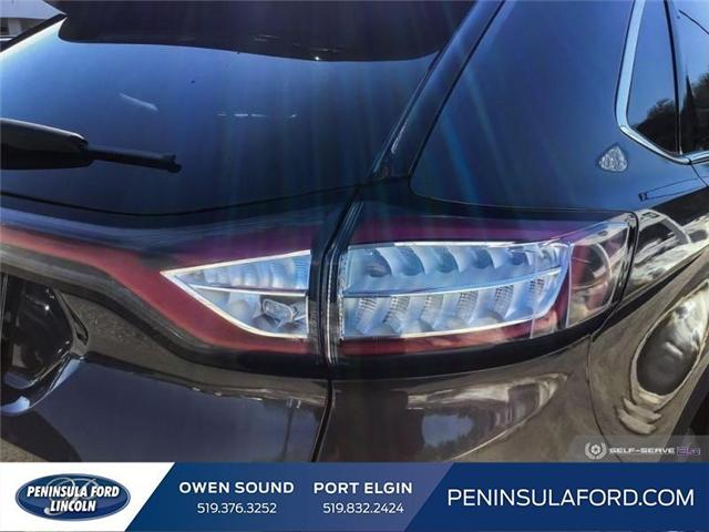 2018 Ford Edge SEL (Stk: 1734) in Owen Sound - Image 10 of 24