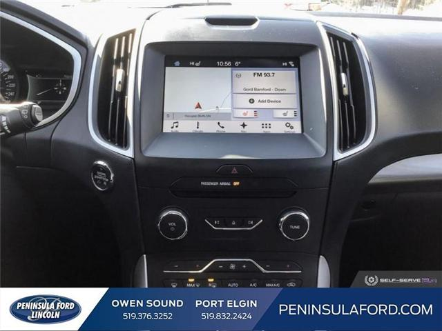 2018 Ford Edge SEL (Stk: 1734) in Owen Sound - Image 18 of 24