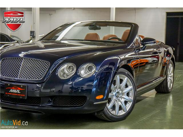 2007 Bentley Continental GTC  (Stk: ) in Oakville - Image 1 of 44
