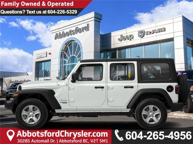 2019 Jeep Wrangler Unlimited Sahara (Stk: K596821) in Abbotsford - Image 1 of 1